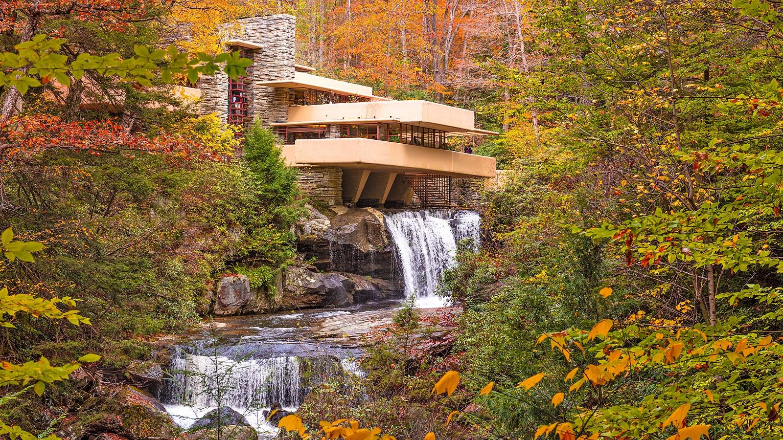 Frank Lloyd Wright Houses Near our Deep Creek Lake Hotel